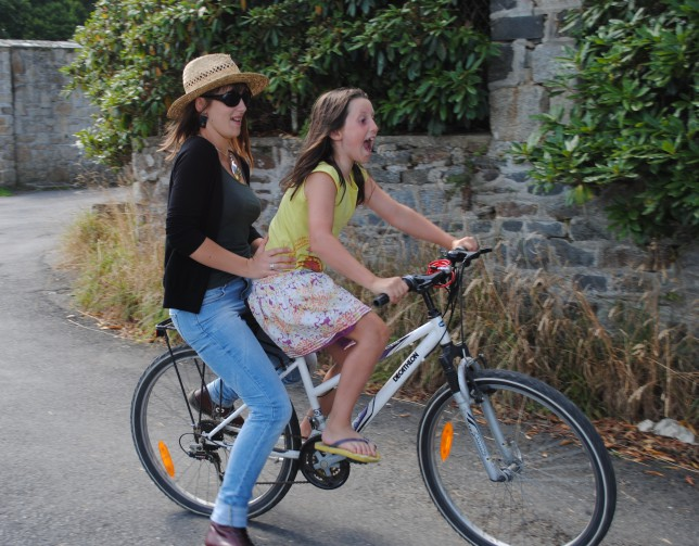 enfant vélo